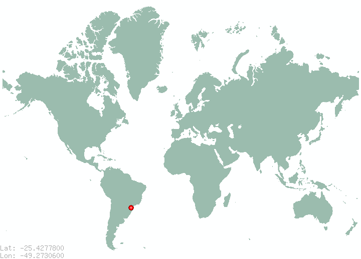 Places in brazil find information on all places in brazil curitiba in world map gumiabroncs Image collections